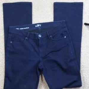 Loft Dark Jeans 29/8 boot cup